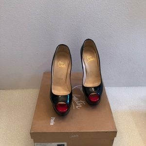Shoes - Christian louboutin peep toe - platform